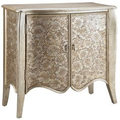 I pinned this Eva Marie Accent Cabinet from the Hollywood Glamour event at Joss and Main!
