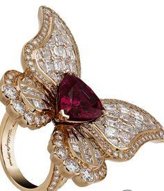 Van Cleef & Arpels Butterfly Ring