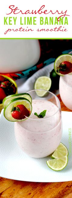 Easy, creamilicious Strawberry Key Lime Banana Protein Smoothie.  Healthy that you crave. Its always hard to say goodbye to the warm waters of Mexico.  Mazatlan, Puerta Vallarta and Cabo to be exact. I just cruised home Saturday and I am still in withdrawal. But nothing that an easy, guilt free refreshing cold, creamy Strawberry Key Lime Banana... Read More »