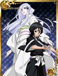 Cards from the Bleach Bankai Battle game Kon Bleach, Rukia Bleach, Bleach Fanart, Bleach Manga, Shinigami, Manga Boy, Manga Anime, Ichigo Y Orihime, Rukia Kuchiki Bankai