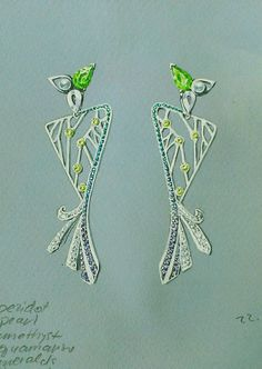 JEWELRY DRAWING - Lidia Ivzhenko - Jewelry designer