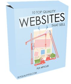 10 Top Quality Websites That Sell PLR Articles - http://www.buyqualityplr.com/plr-store/10-top-quality-websites-sell-plr-articles/.  #websitesthatsell #targetedwebsitetraffic #competition #seo #seotools #websitegoals #optimizeyourwebsite #successfullandingpage #keyworddevelopmentquestion #websitecredibility #reasontoreturn 10 Top Quality Websites That Sell PLR Articles  In this PLR Content Pack You'll get 10 Quality Websites....