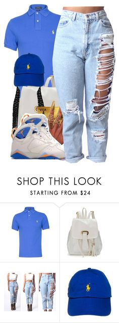 """""""My School Colors"""" by prettygurl21 ❤ liked on Polyvore featuring Polo Ralph Lauren, women's clothing, women's fashion, women, female, woman, misses and juniors"""