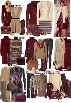 Fall color scheme with killer boots! Colour Combinations Fashion, Color Combinations For Clothes, Fashion Colours, Colorful Fashion, Stylish Work Outfits, Classy Outfits, Fall Outfits, Cute Outfits, Fashion Outfits