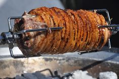 Fire and Food: Spit Roasted Pork Belly