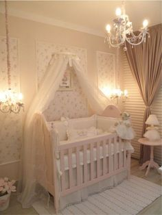 18 crib canopies perfect for your nursery design babyzimmer kinderzimmer und blumen. Black Bedroom Furniture Sets. Home Design Ideas