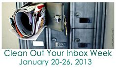 """It's... """"Clean Out Your Inbox Week""""! Find email productivity tips via MamaNYC and start cleaning your inbox today!"""