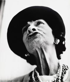 Richard Avedon. Gabrielle Chanel, couturière, Paris. March 6, 1958