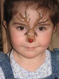 Image result for face painting christmas