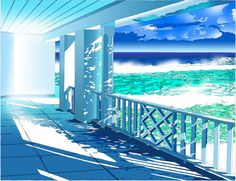 Eizin Suzuki (b. 1948, Japan), Illustration with Photoshop and Painter, (2007).