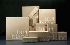Tart Blanc on Packaging of the World - Creative Package Design Gallery
