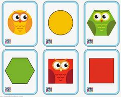 Owl Theme Classroom, Math Activities, Free Printables, Playing Cards, Shapes, Former, Coasters, Facebook, Geometric Form
