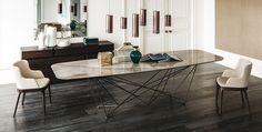 Cattelan Italia Furniture  Italian Desing Interiors - Cattelan Italia dining table, sideboards,  Speder Table, USA dealer