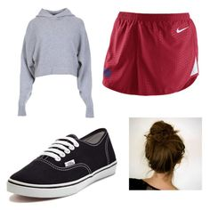 """Lazy day"" by sami-cardinals on Polyvore featuring TIBI, NIKE and Vans"