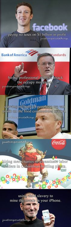 Just Corporate Things