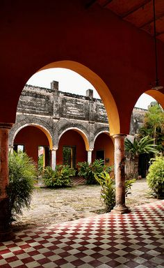 Mexican decor: Mexican Hacienda