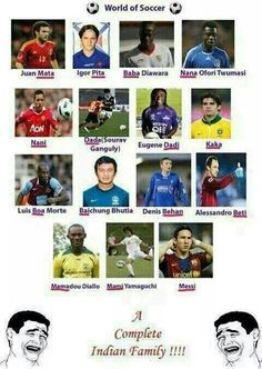 The complete Indian family :-)