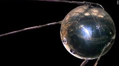 Sputnik * Satellite launched by the USSR that began the space race in 1957.