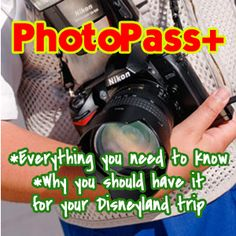 Check out what comes with PhotoPass+ and why you should have it for your Disneyland trip.