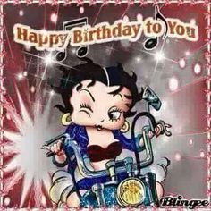 betty boop happy birthday Pictures [p. Happy Birthday Biker, Happy Birthday Betty Boop, Birthday Wishes Funny, Happy Birthday Pictures, Happy Birthday Messages, Happy Birthday Funny, Happy Birthday Quotes, Birthday Greetings, Birthday Blessings