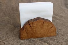 Wooden Napkin Holder Natural Branch Napkin Holder by Woodber