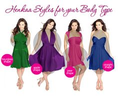 We know it can sometimes be challenging to dress according to our body shape. Luckily, our Henkaa dresses fit every shape and size with infi...