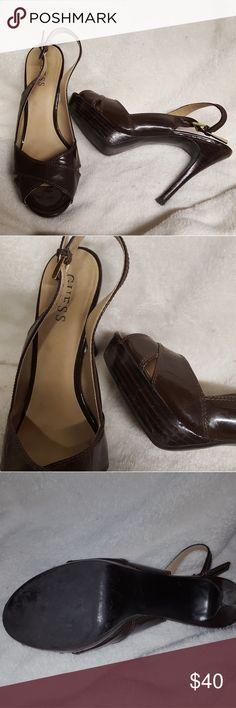 Heels Guess heels,  like new Guess Shoes Heels