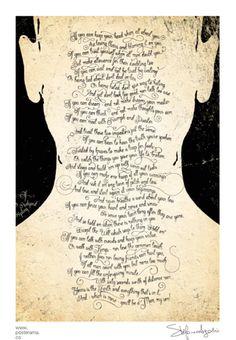 IF, Rudyard Kipling canvas poster Man1