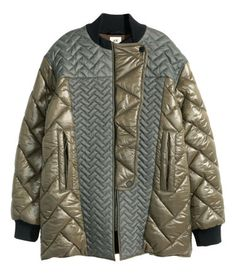 Quilted Pilot Jacket, $199