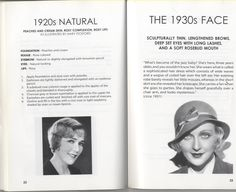 Make up 1920s
