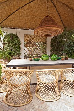 Jean Louis Deniot // Capri Home #outdoorliving