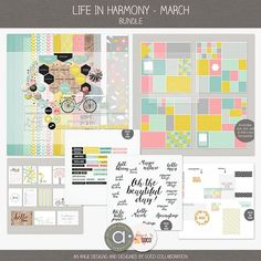 Life In Harmony - March {Bundle} | Ange Designs & Designed by Soco