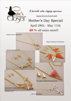Lene's Closet: Mother's Day Sale