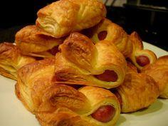 As Receitas da Patanisca: Folhadinhos de salsicha