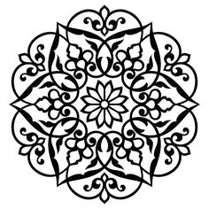 Image result for canvas flower stencil templates