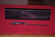 Jaguar Letter Opener  Chromed Leaper Mascot Design