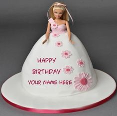 Amazing Barbie Doll Happy Birthday Cake With Name Image,, Latest Specially Beaut. Amazing Barbie Doll Happy Birthday Cake With Name Image,, Latest Specially Beautiful Barbie Doll Bi Happy Birthday Princess Cake, Birthday Cake Write Name, Barbie Birthday Cake, Birthday Cake Writing, Happy Birthday Wishes Cake, Birthday Cake For Mom, Unique Birthday Cakes, Happy Birthday Cake Images, Birthday Cake With Flowers