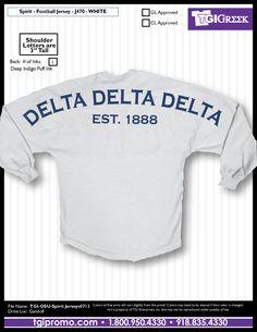 TGI Greek - Delta Delta Delta - Spirit Jersey