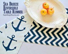 Table Runner   Modern Table Runner   Reversible Table Runner   Indoor /  Outdoor Table Runner