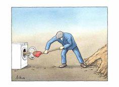Pol Leurs- Prize winners Euro-Kartoenale 2015 'Soil pollution and sanitation' Euro, Posters, Cartoon, Baseball Cards, Poster, Cartoons, Billboard, Comics And Cartoons