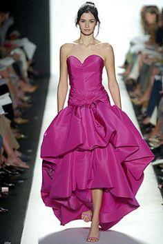 Oscar de la Renta Spring 2005 Ready-to-Wear Fashion Show - Liya Kebede