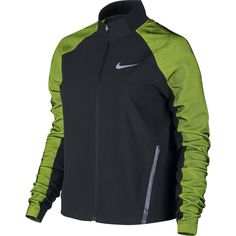 Nike Dri-Fit Stadium Running Training Jacket Womens Sz S M Black Volt  822552 010 c933fe306