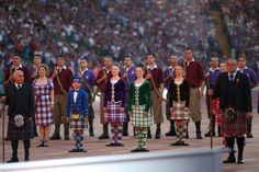 Celtic dancers performed during the opening ceremony for the 2014 Commonwealth Games.