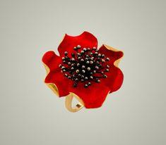 Lina Fanourakis, Greece, gold, red paint, black diamonds