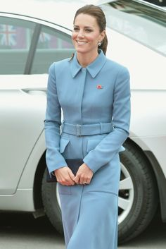 The Duchess of Cambridge in Alexander McQueen [Photo by Anthony Devlin/PA Wire/Press Association Images]