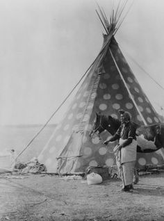 "A Blackfoot tepee c1927. The Blackfoot Confederacy or Niitsítapi (meaning ""original people"") is the collective name of three First Nations in Alberta and one Native American tribe in Montana. The Blackfoot Confederacy consists of the North Peigan, South Peigan, the Kainai Nation, and the Siksika Nation. The Siksika called themselves Sao-kitapiiksi - ""Plains People"". The South Peigan are located in Montana, and the other three are located in Alberta."