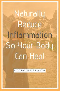 Boulder Chiropractor explains how to naturally reduce inflammation with Anti-inflammatory foods and lifestyle changes to jumpstart the natural healing process. Upper Cervical Chiropractic, Chiropractic Care, Anti Inflammatory Recipes, Natural Anti Inflammatory Supplements, Autoimmune Diet, Healthy Lifestyle Changes, Natural Health Remedies, Reduce Inflammation, Natural Treatments