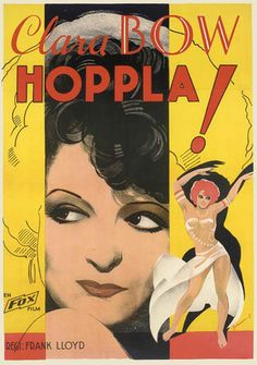 foreignmovieposters:  Hoop-La (1933). Swedish poster, designed by Eric Rohman. With a nod to thatsashajames.