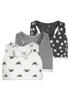 Next CROP 3 PACK - Alustoppi - grey - Zalando.fi