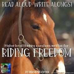 Riding Freedom Read Aloud Write Along Book Study by Tales From the Third Degree This Is A Book, The Book, 4th Grade Classroom, Classroom Ideas, Balanced Literacy, Book Club Books, Book Clubs, Book Study, Writing Activities